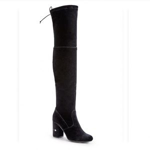 Just Fan l Deedee Over the Knee Boot